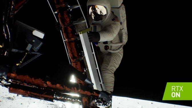 Nvidia Apollo 11 moon landing alttab