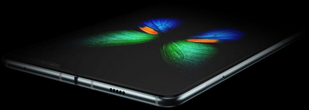 Samsung Galaxy Fold Katlanabilir telefon