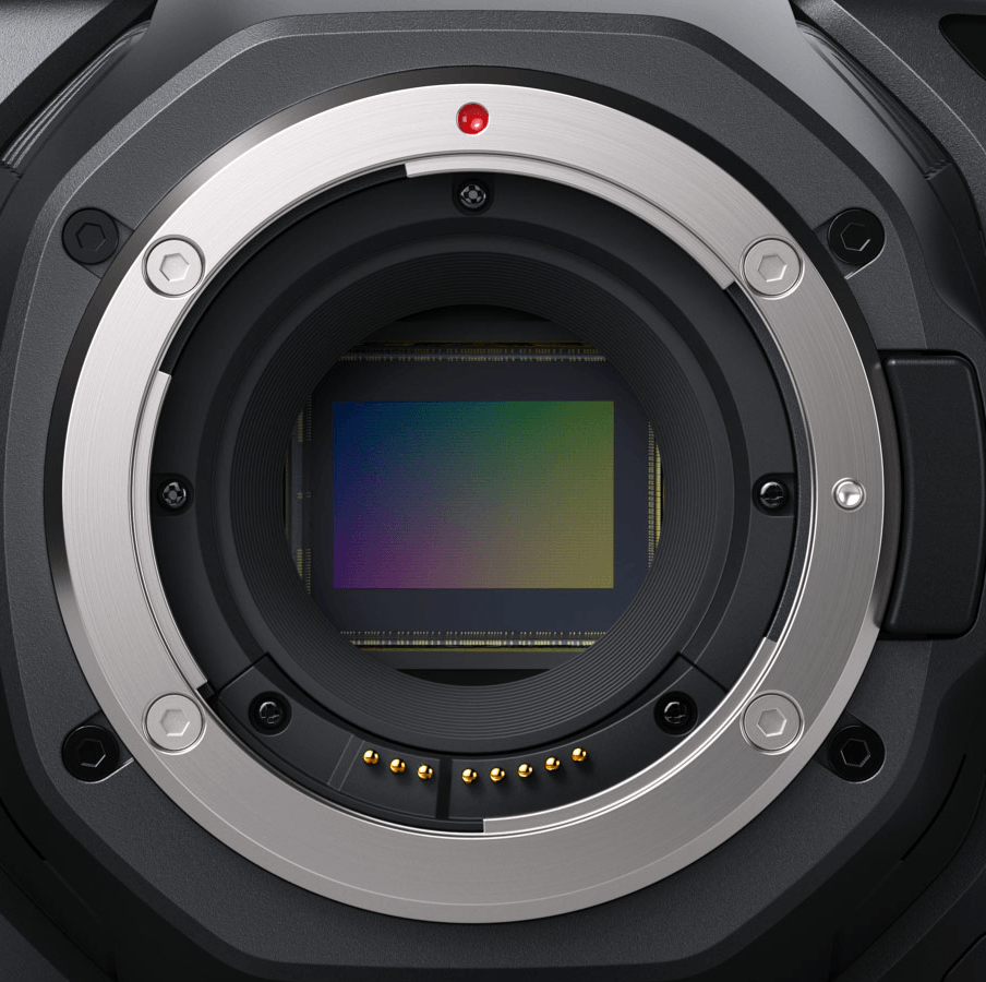 BMPCC6K EF lens desteği