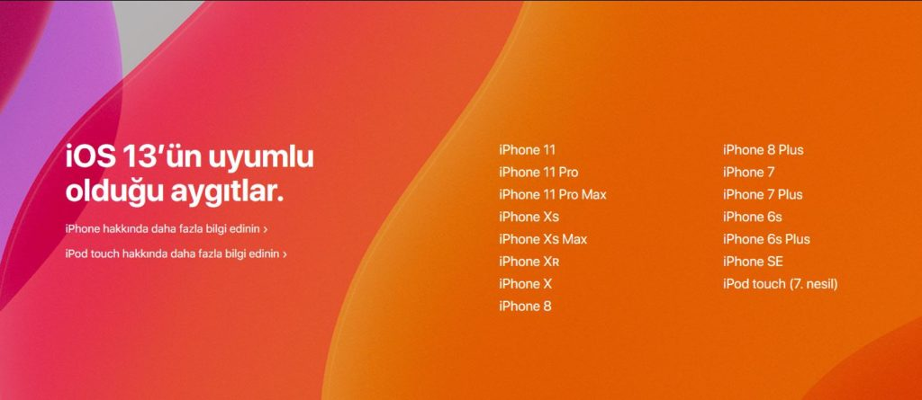 iPhone Kullanıcılarını Üzecek iOS 13 Gelişmesi Apple ios 13.1
