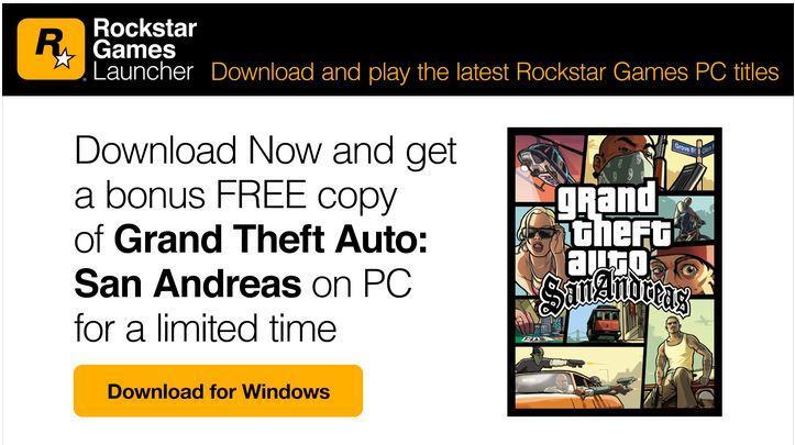 Rockstar Games GTA San Andreas'ı Bir Süreliğine Ücretsiz Sunacak