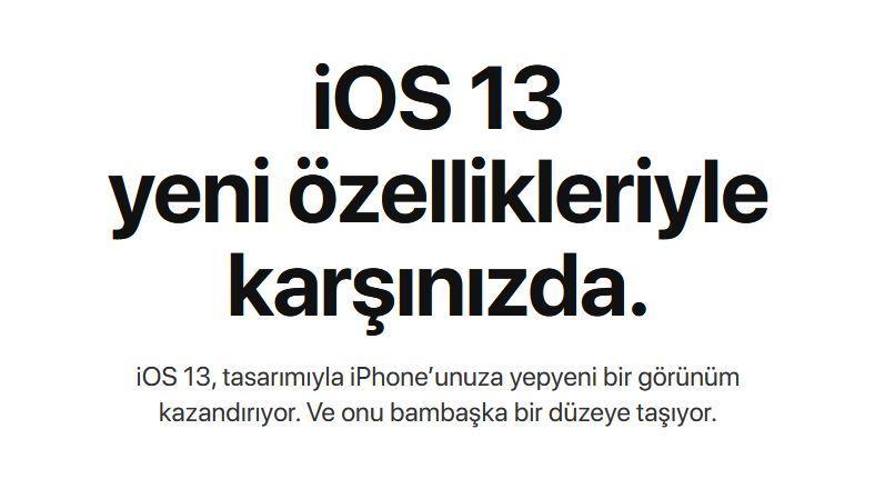Apple iOS 13 Çıktı! iOS 13 Nasıl İndirilir?