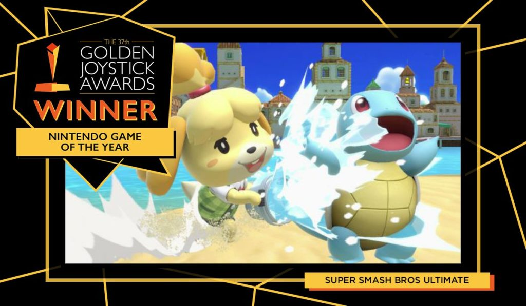 Golden Joystick Yılın En İyi Nintendo Oyunu