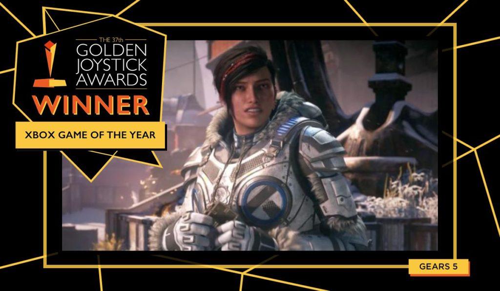 Golden Joystick Yılın En İyi Xbox Oyunu
