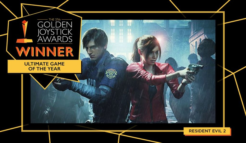 Golden Joystick Yılın En iyi Oyunu Resident Evil 2