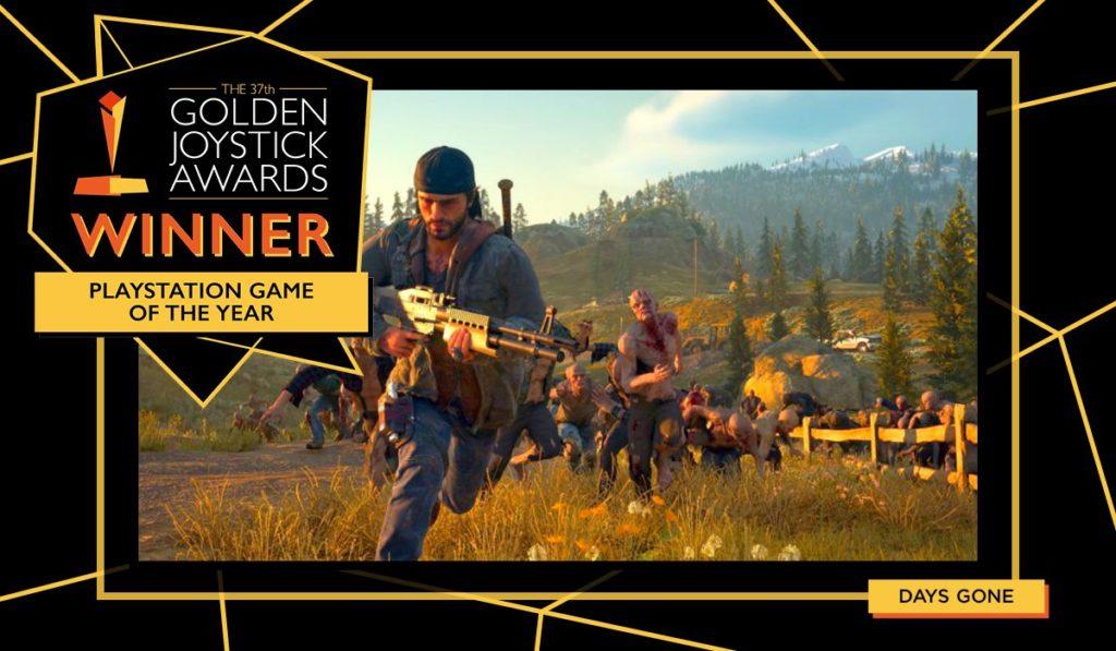 Golden Joystick Yılın En iyi Playstation Oyunu