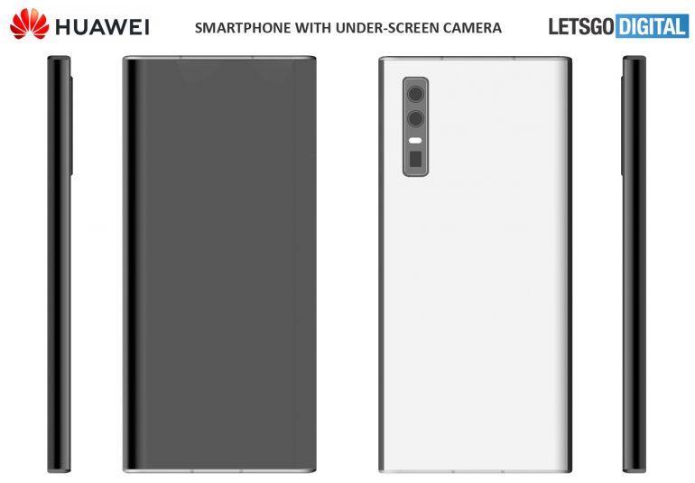 Huawei ekran altı kamera sistemi ile ilgili patent başvurusunda bulundu